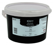 CRANFIELD SPECTRUM ACRYLIC PAINT 2.5l BLACK