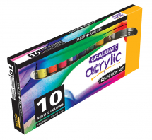 DR GRADUATE ACYLIC 10 x 38ml SELECTION SET