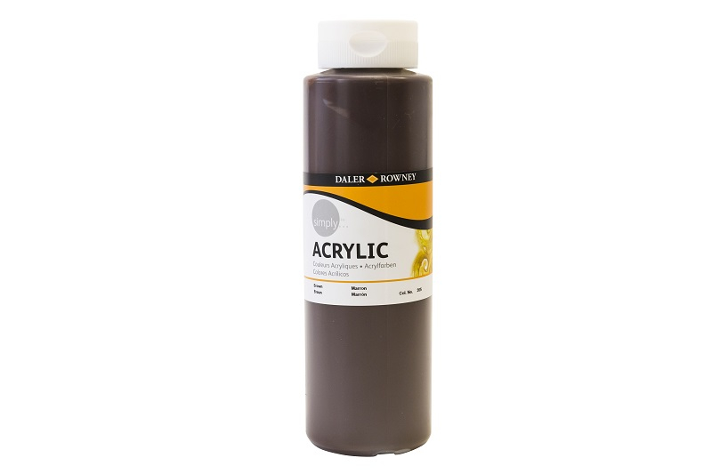 DALER SIMPLY ACRYLIC 750ML - BROWN