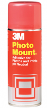 3M PHOTOMOUNT 200ml RED CAP SMALL