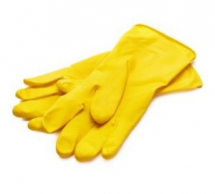 MARIGOLD RUBBER GLOVES MEDIUM