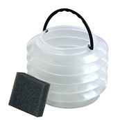 PLASTIC COLLAPSIBLE BRUSH WASHER