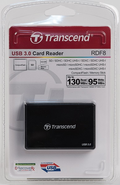 MULTI CARD READER WITH CABLE 130MB READ/95MB WRITE