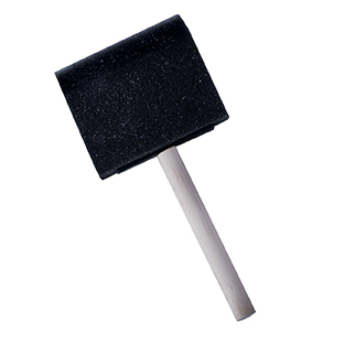 HERON FOAM BRUSH 4inch