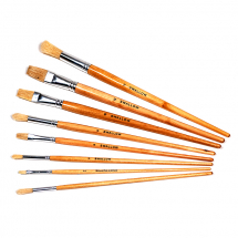 THE SWALLOW CLASS PACK 100 ROUND & 100 FLAT BRUSHES