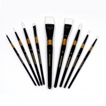 WOODPECKER SYNTHETIC ROUND 0 BRUSH