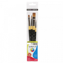 DR SYSTEM 3 400 CLASSIC BRUSH SET OF 4 SHORT HANDLE