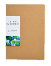 SOFTBACK SEWN SKETCH BOOK A3 40pp 150g NATURAL COVER