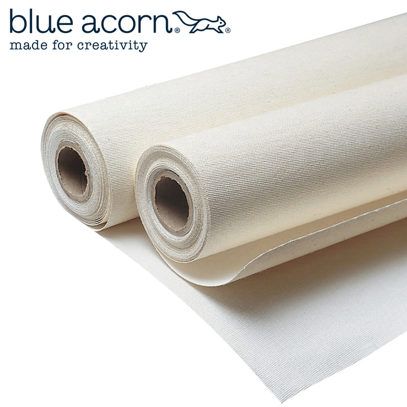 BLUE ACORN CANVAS ROLL 8oz - 1.83m X 5m PRIMED