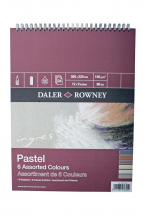 DR INGRES PAD 6 ASSORTED COLOURS 16inch X 12inch