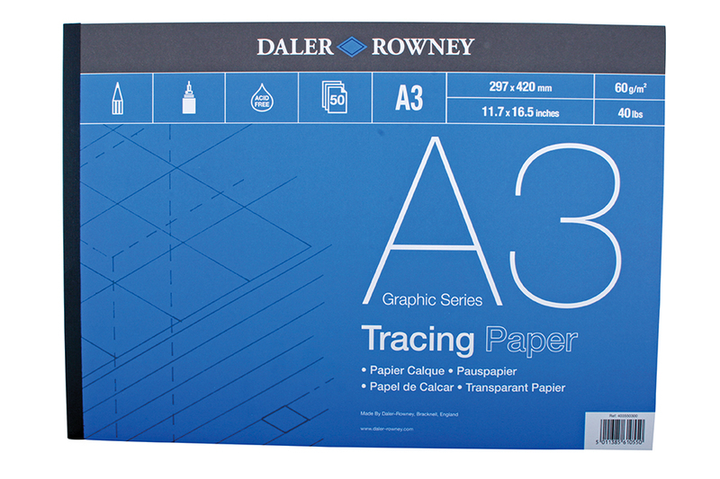 DR TRACING PAD 60gsm A2