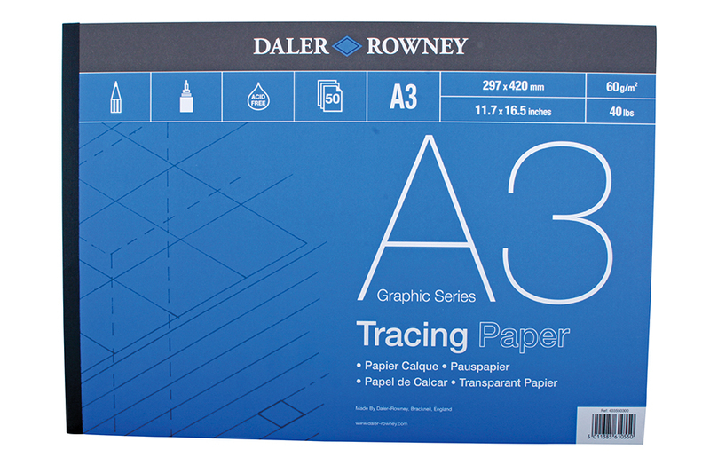 DR TRACING PAD 60gsm A3