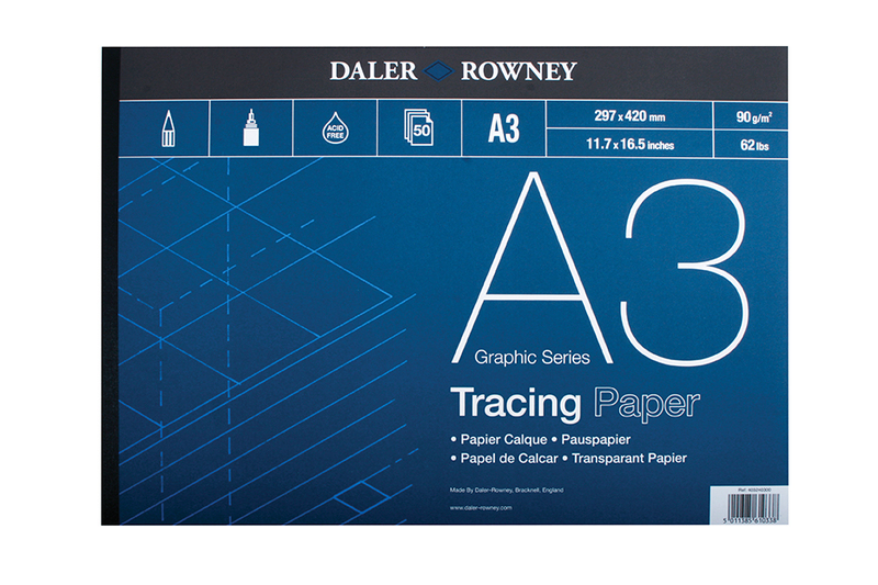 DR TRACING PAD 90gsm A3