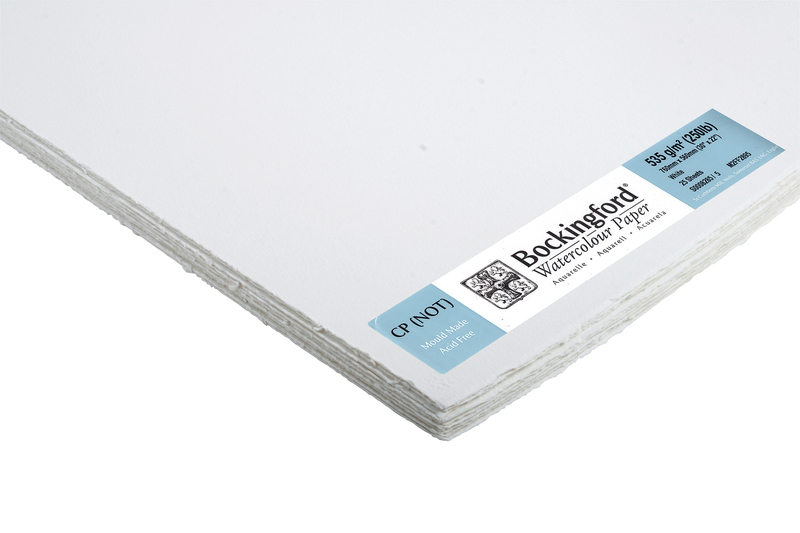 BOCKINGFORD PAPER 30inchX22inch 535g 250lb NOT