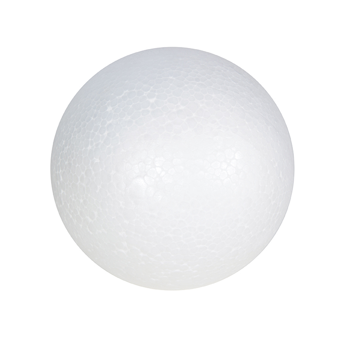 POLYSTYRENE SPHERE 70mm 10'S
