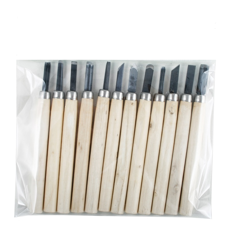 WOOD CARVING TOOL SET OF 12
