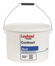 LEYLAND TRADE EMULSION MATT BRILLIANT WHITE 10l