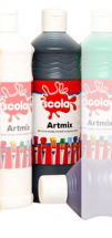 READY MIX 600ml BLACK POSTER PAINT