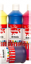 READY MIX 600ml BRILLIANT BLUE POSTER PAINT