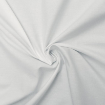 PLAIN COTTON WHITE 91cm metre 148gsm
