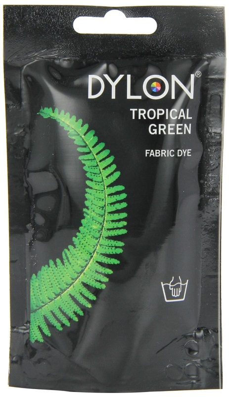 DYLON HAND DYE SACHET TROPICAL GREEN 03