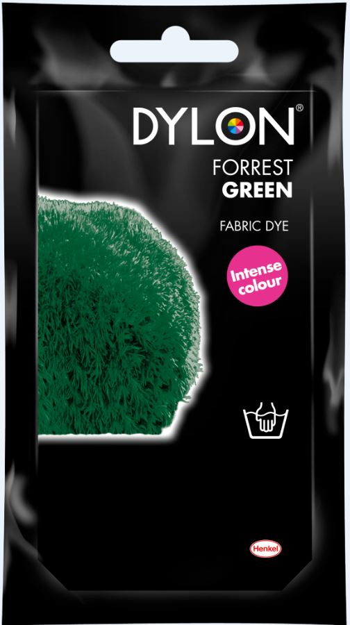 DYLON HAND DYE SACHET FOREST GREEN 09 (PREV. DARK GREEN)