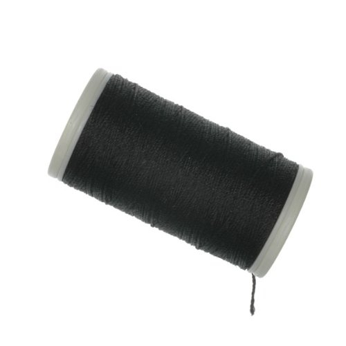 POLYESTER SEWING THREAD 100m BLACK