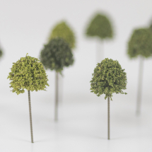 DECIDUOUS GREEN TREE 18mm