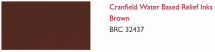 CRANFIELD WATER BASED RELIEF INK BROWN 250 ml