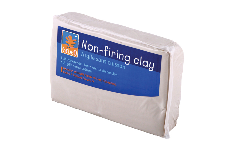 GEDEO AIR DRYING CLAY 1.5kg WHITE