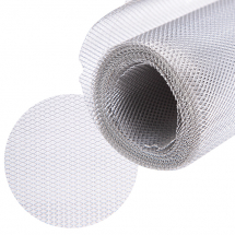 ALUMINIUM WIRE MESH FINE 1x2mm GAP 3 x 0.5m