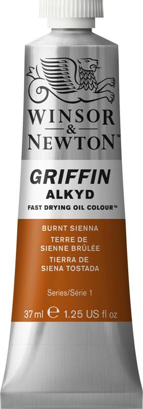 WN GRIFFIN ALKYD 37ml - BURNT SIENNA S1