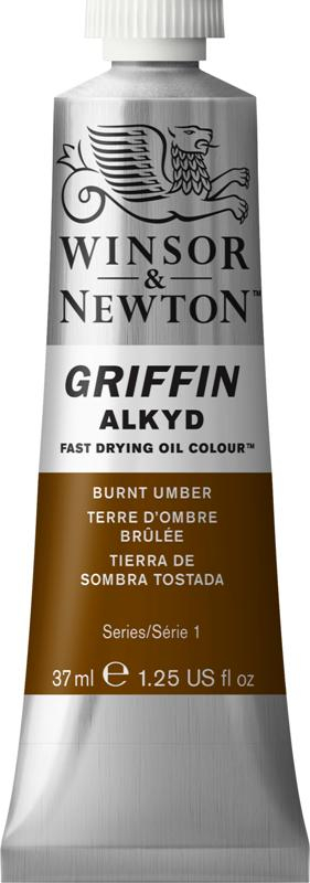 WN GRIFFIN ALKYD 37ml - BURNT UMBER S1