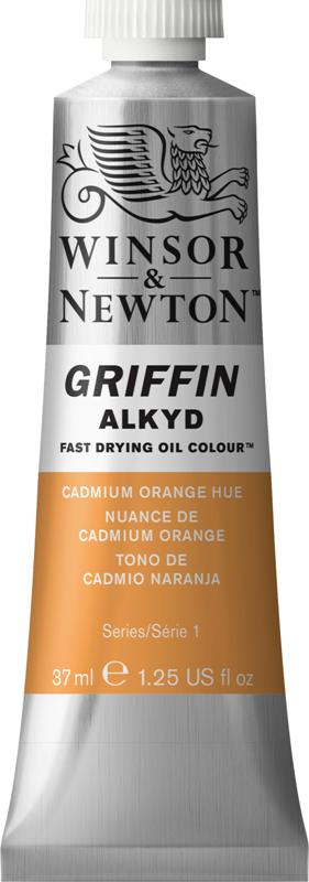WN GRIFFIN ALKYD 37ml - CADMIUM ORANGE S1