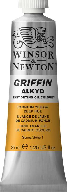 WN GRIFFIN ALKYD 37ml - CADMIUM YELLOW DEEP S1