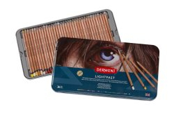 DERWENT LIGHTFAST PENCIL 36 TIN