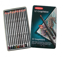 DERWENT GRAPHITINT PENCIL 12 TIN