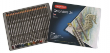 DERWENT GRAPHITINT PENCIL 24 TIN