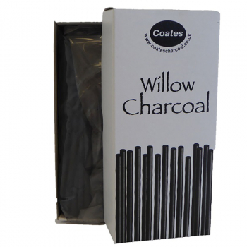 COATES CHARCOAL BUDGET PACK 70 ASSORTED HALF LENGTHS
