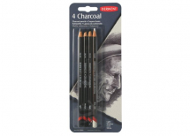 DERWENT CHARCOAL 4 PENCIL BLISTER