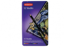 DERWENT STUDIO PENCIL TIN 12