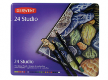 DERWENT STUDIO PENCIL TIN 24
