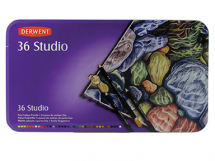 DERWENT STUDIO PENCIL TIN 36