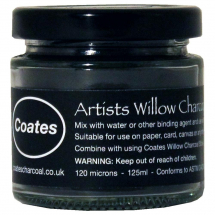 COATES WILLOW CHARCOAL POWDER 125ml