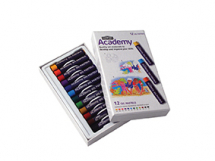 ACADEMY OIL PASTELS 12 SET 2301952