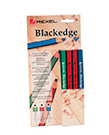 CARPENTERS BLACKEDGE PENCILS REXEL PACK OF 12 ASSORTED