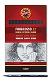 PROGRESSO AQUARELLE SOFT 4B PENCIL BOX OF 12