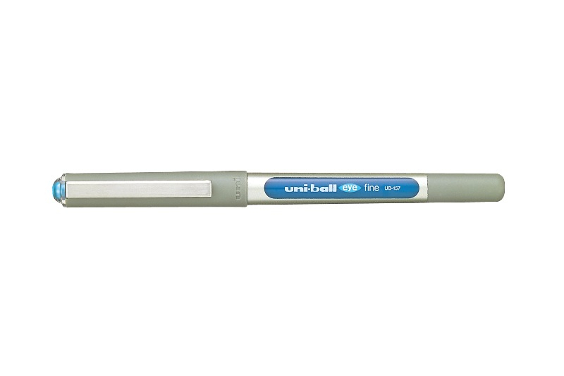 UNI-BALL UB-157 FINE EYE PEN BLUE 0.7mm