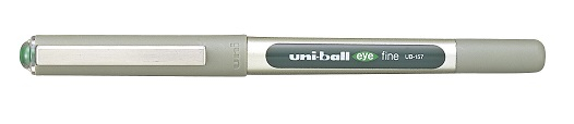 UNI-BALL UB-157 EYE FINE PEN GREEN 0.7mm