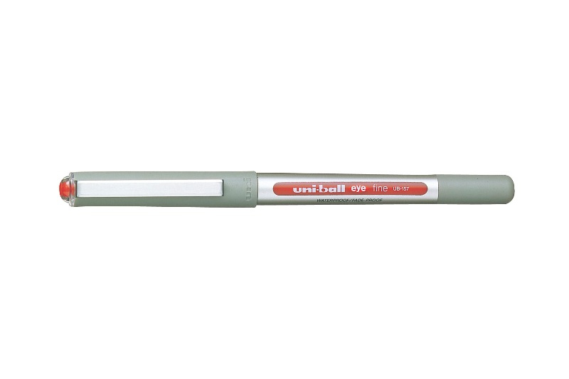 UNI-BALL UB-157 EYE FINE PEN RED 0.7mm